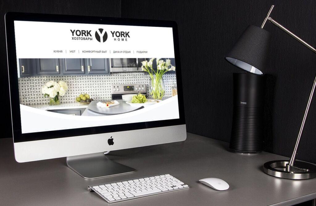 Website design development for the catalog